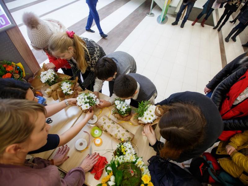 Праздник посвященный дню 8 марта