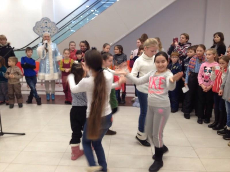 Фотоотчет «Новогодние утренники» в ТЦ «Аркада»