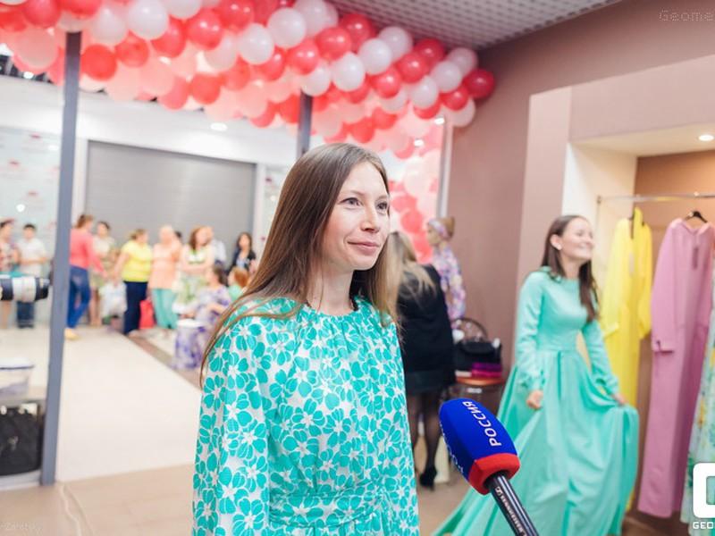 Открытие бутика «Rimma Allyamova» в ТЦ «Аркада».