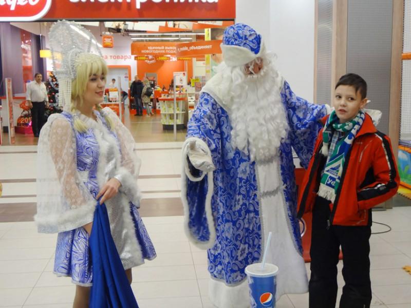 Новогодние утренники в ТЦ «Аркада»