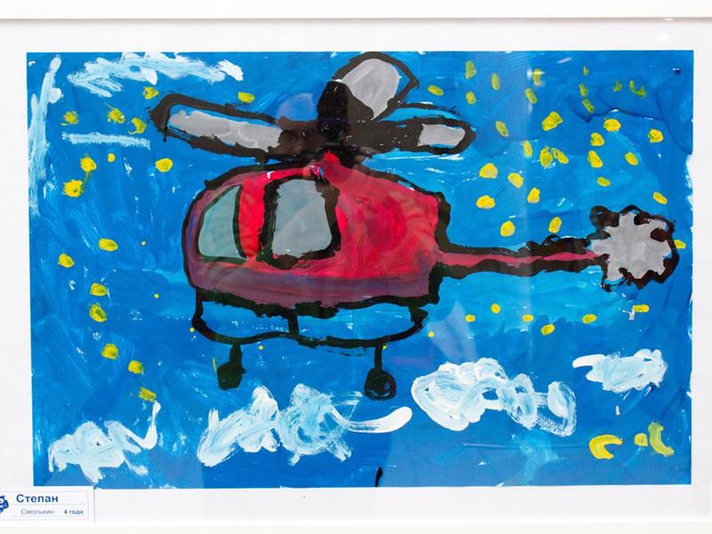 Выставка детского рисунка в ТЦ «Аркада»